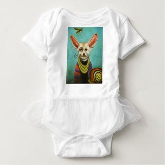 Body Para Bebé Curioso como Fox de A