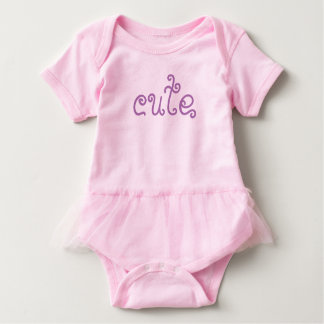 Body Para Bebé Cute