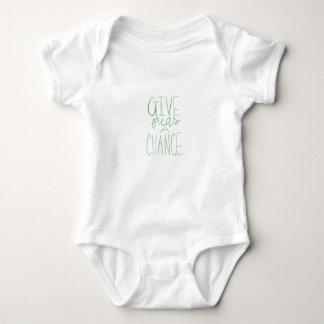 Body Para Bebé Dé a guisantes un mono del bebé de la ocasión