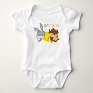 Body Para Bebé ™ de Chibi BUGS BUNNY, TWEETY™, y TAZ™