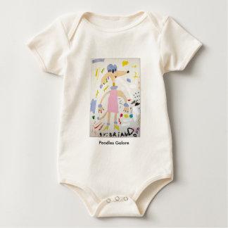 Body Para Bebé De los caniches bebé a montones