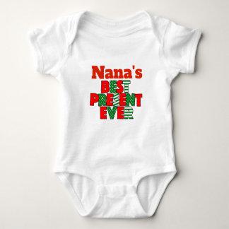 Body Para Bebé De Nana mejor del presente nieto del navidad nunca