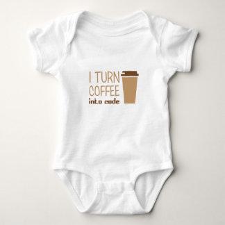 Body Para Bebé Dé vuelta al café en código