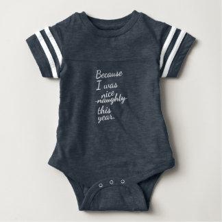 """Body Para Bebé Declaración """"traviesa o Niza"""" del día de fiesta en"""