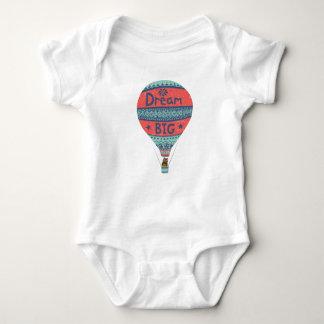 Body Para Bebé Decoraciones indias del estilo del globo grande