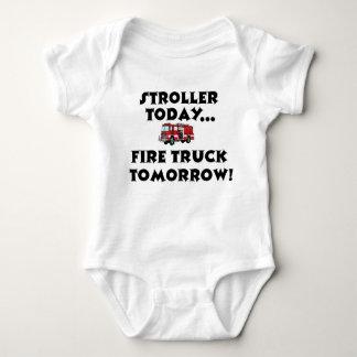 Body Para Bebé ¡Del cochecito Firetruck hoy… mañana!