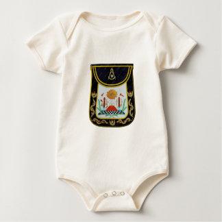 Body Para Bebé Delantal de lujo de los últimos amos