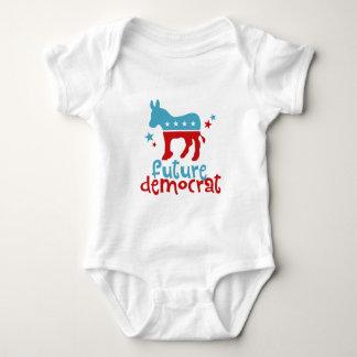 Body Para Bebé Demócrata futuro