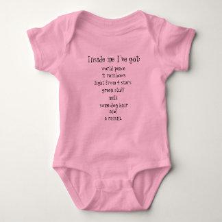 Body Para Bebé Dentro de mí tengo…