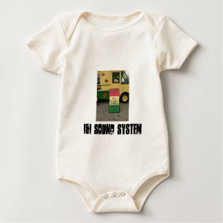 Body Para Bebé desgaste del bebé del sistema de sonido del i&i