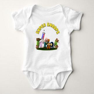 Body Para Bebé Detectives estupendos del Jr. de los fisgones