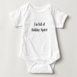 Body Para Bebé Día de fiesta