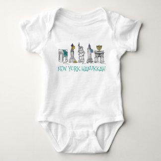 Body Para Bebé Día de fiesta judío de New York City NYC Jánuca