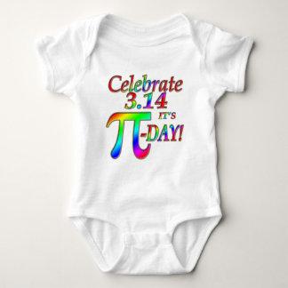 Body Para Bebé Día del pi
