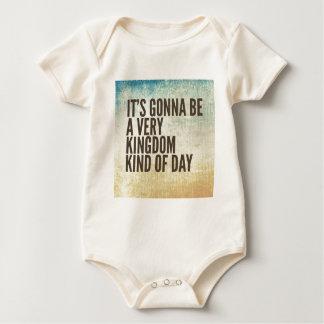 Body Para Bebé Día del reino un poco