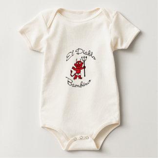 Body Para Bebé Diablo del bebé del Bambino del EL Diablo