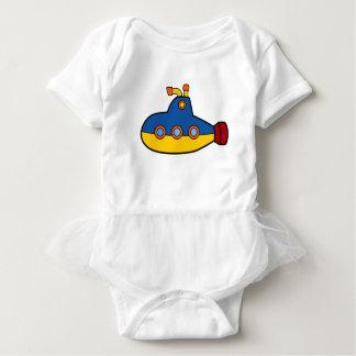 Body Para Bebé Dibujo animado del submarino del juguete