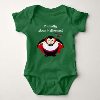 Body Para Bebé Dibujo animado lindo de la diversión de una cuenta