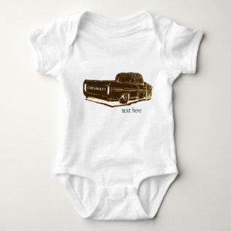Body Para Bebé Dibujo del truch de Chevy