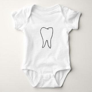 Body Para Bebé Diente blanco sano