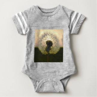 Body Para Bebé diente de león en el sol