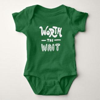 Body Para Bebé Digno de la espera