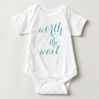 Body Para Bebé Digno del juego del cuerpo del bebé de la espera