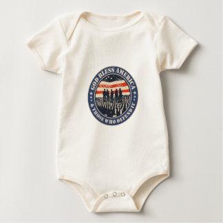 Body Para Bebé Dios bendice América