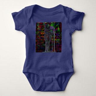 Body Para Bebé Diosa abstracta del acuario