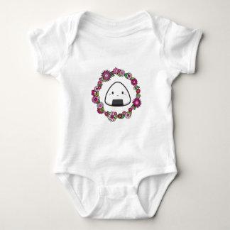 Body Para Bebé Diseño de Onigiri Musubi
