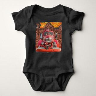 Body Para Bebé Diseño del coche de bomberos del International