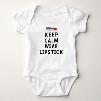 Body Para Bebé diseño del lápiz labial lindo