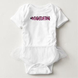 Body Para Bebé Diseño del levantamiento de pesas