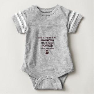 Body Para Bebé Diseño espantoso asustadizo de Halloween del