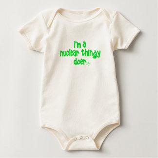 Body Para Bebé Diseño nuclear original