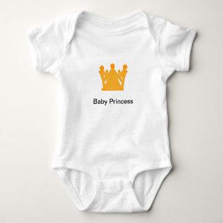 Body Para Bebé Diseño personalizado de la corona de princesa Vest