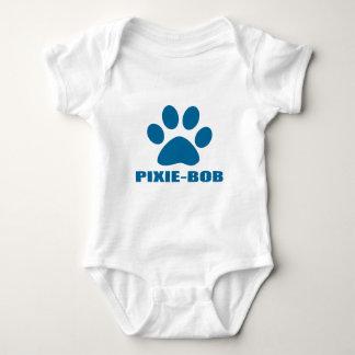 BODY PARA BEBÉ DISEÑOS DEL CAT DE PIXIE-BOB