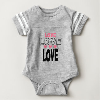 Body Para Bebé diseños frescos del amor