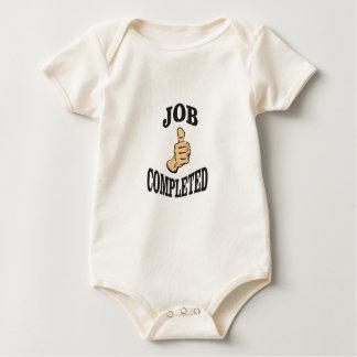 Body Para Bebé diversión bien hecha del arte del trabajo