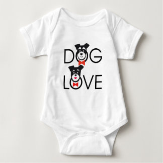 Body Para Bebé Dog Love
