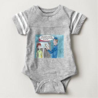 Body Para Bebé Dolor en la cartera