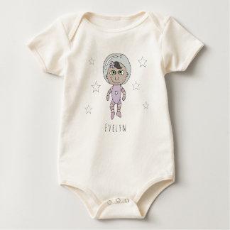 Body Para Bebé Doodle y nombre feministas del sueño del