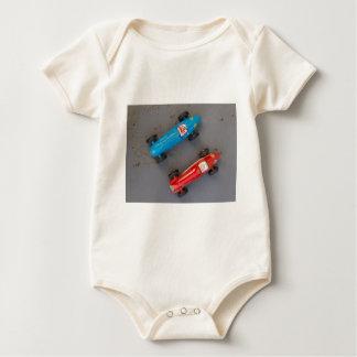 Body Para Bebé Dos coches del vintage del juguete
