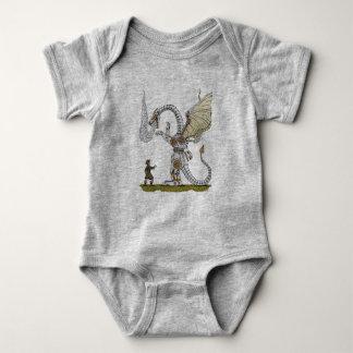 Body Para Bebé Dragón mecánico
