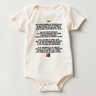 Body Para Bebé DUERMA - Poema - Francois Ville