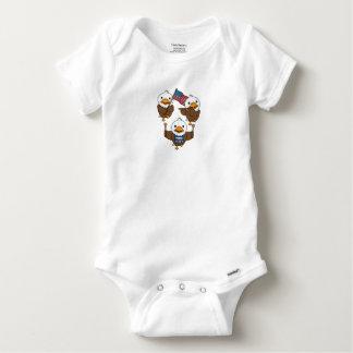 Body Para Bebé Eagles que marcha