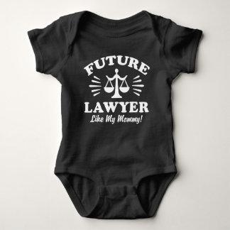 Body Para Bebé El abogado futuro tiene gusto de mi mamá