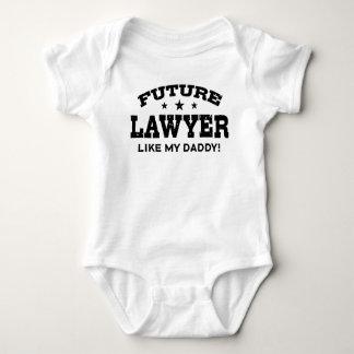 Body Para Bebé El abogado futuro tiene gusto de mi papá