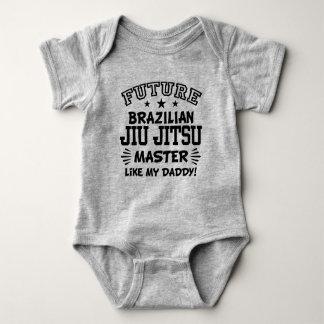Body Para Bebé El amo futuro de Jiu Jitsu del brasilen@o tiene