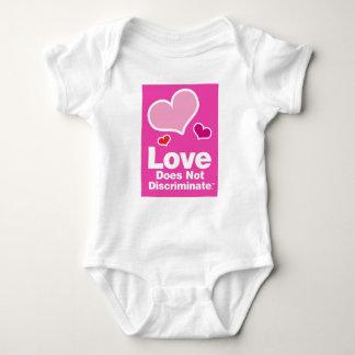 Body Para Bebé El amor no discrimina - al niño